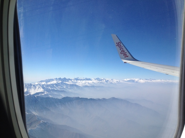 Spice Jet in the Himalayas