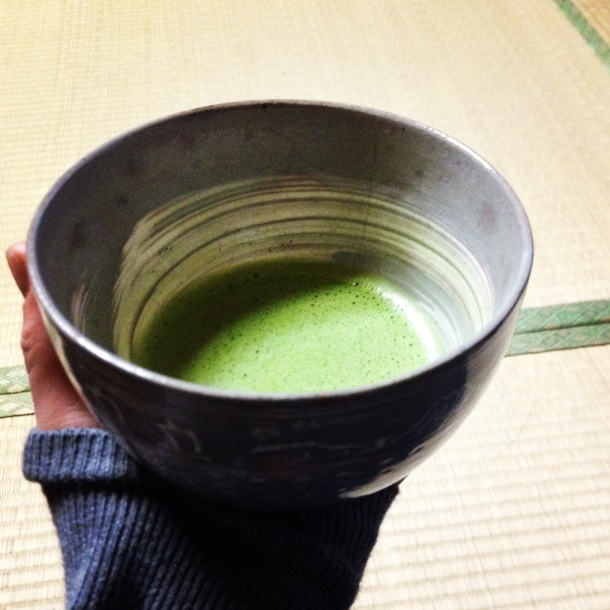 Traditionally used in the Tea Ceremony, but tastes like healthy foam.