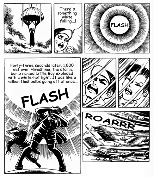 Page from Barefoot Gen (notice the page layout!)